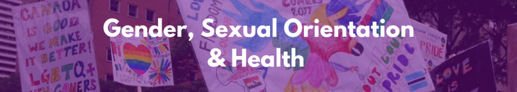 Link to Gender, Sexual Orientation & Health