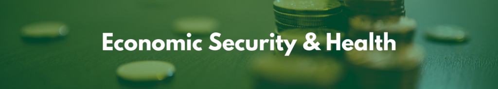 Link to Economic Security & Health